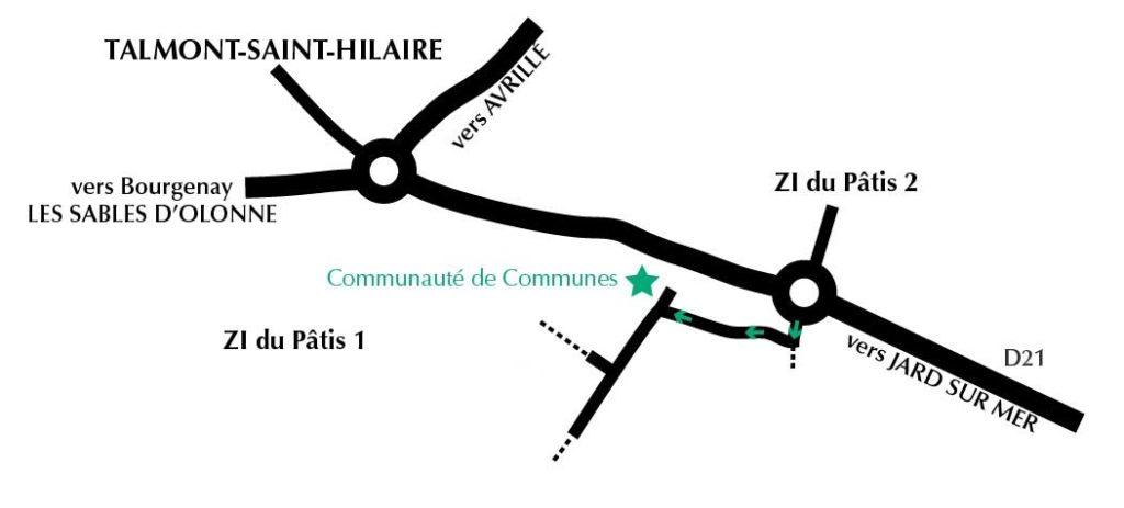 accès communauté de communes